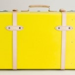 J. Crew  suitcase with wheels