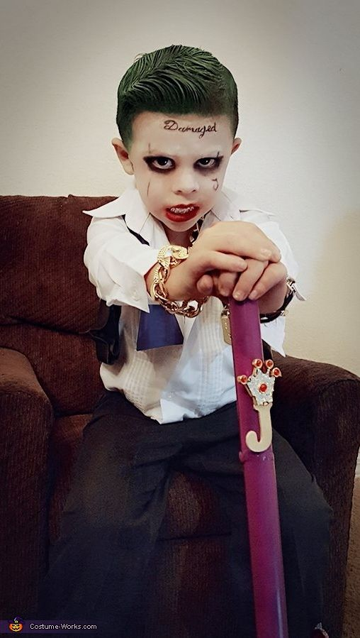 suicide squad joker costume - Creative Halloween Costume Idea
