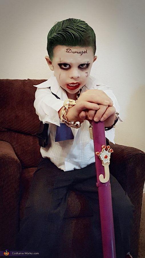 Suicide Squad Joker Halloween Costume Idea