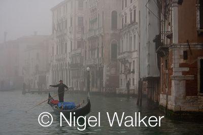 gondolier, photo by Nigel Walker