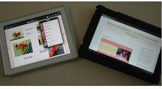 Fragments de classe.: Ecrire et Publier grâce aux Tablettes tactiles en Grande Section Maternelle
