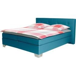 Photo of Lonni box spring bed included Led lighting, material Kuns …