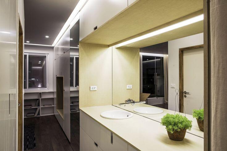 Apartment Renovation under Hanoi Bathroom Vanity Furniture Used Cream Color Design Finished Among Modern Decoration Ideas as Inspiration