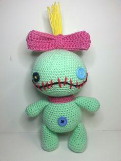 Stitch Amigurumi Doll Pattern : 17 Best images about Amigurumi on Pinterest Amigurumi ...