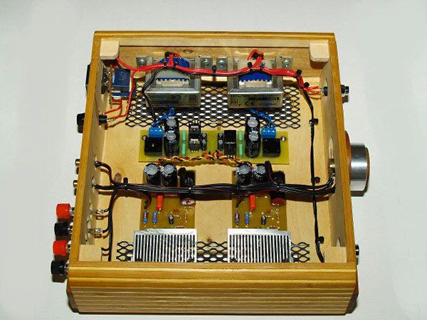 tda2030 based diy hifi amplifier by vortchun gds lyd pinterest. Black Bedroom Furniture Sets. Home Design Ideas
