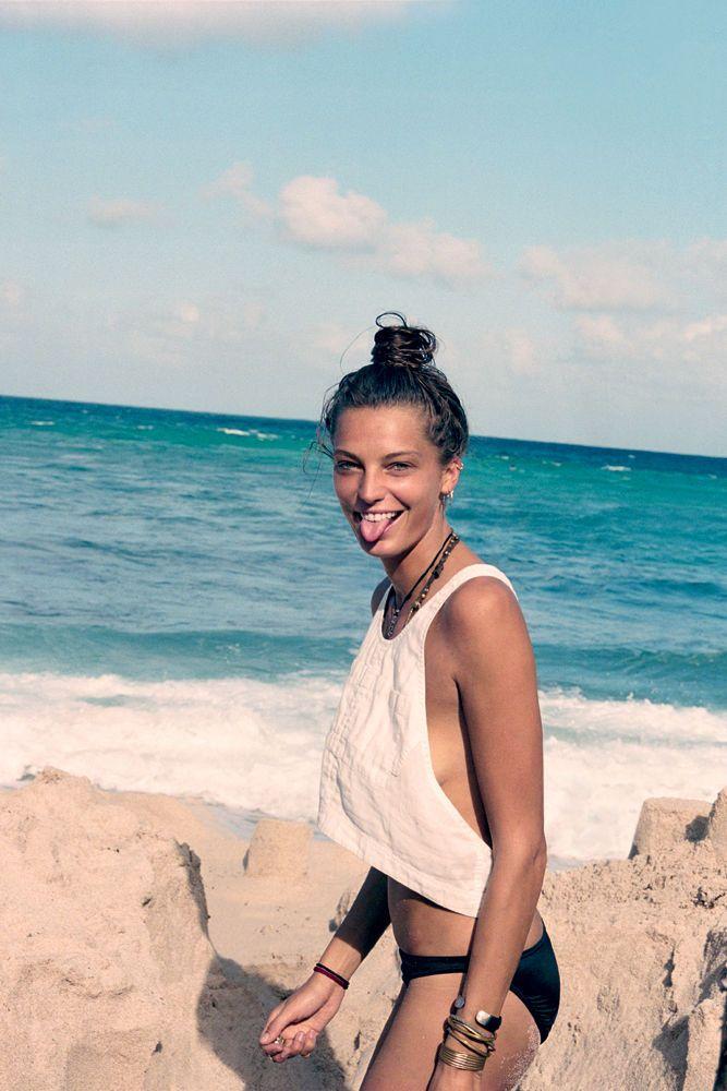 summerBeach Style, Beach Bound, Summer Beach, Summer Travel, At The Beach, Magazines, Cass Birds, Beach Life, Daria Werbowy