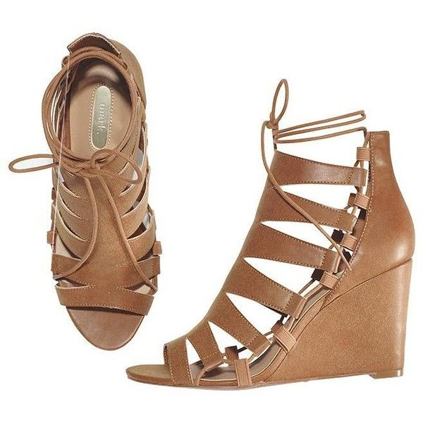 mark. Wedge Issue Sandals | AVON (125 BRL) ❤ liked on Polyvore featuring shoes, sandals, wedge shoes, wedge sandals, avon, avon shoes and wedge heeled shoes