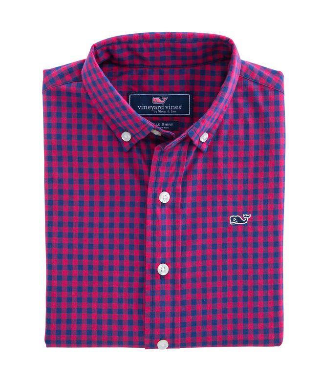 7a68f8fed94 Bentley Gingham Whale Shirt | Jordan ❤ | Whale shirt, Boys shirts ...