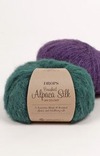 Fargekart for DROPS Brushed Alpaca Silk ~ DROPS Design