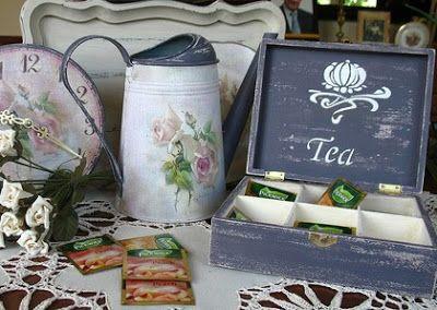 Sweet Home Decor: Винтажные розы и стиль прованс в интерьере