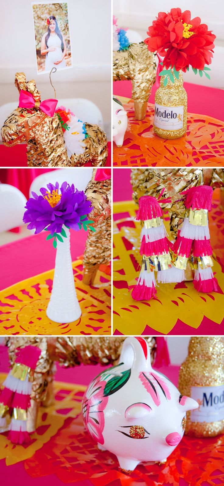 Colorful baby shower inspired by mexican culture mais