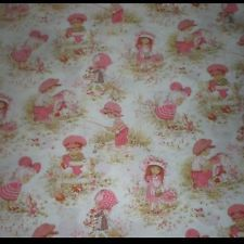 ❤️Holly Hobbie ~ (Had this colour and design on my bedspread and bedroom curtains as a child)