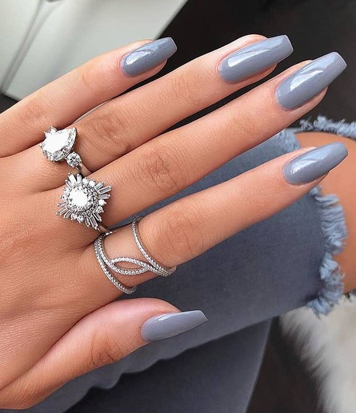 25 Hottest Nude Nails Design in 2019 – Page 2 of 8