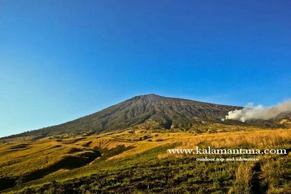 Mt. Rinjani 3726 metres above sea level is the 3rd highest peak in Indonesia. Located at Lombok Island, West Nusa Tenggara which near Bali. Nature lovers should visit this mountain and enjoying its landscape and culture of Lombok.