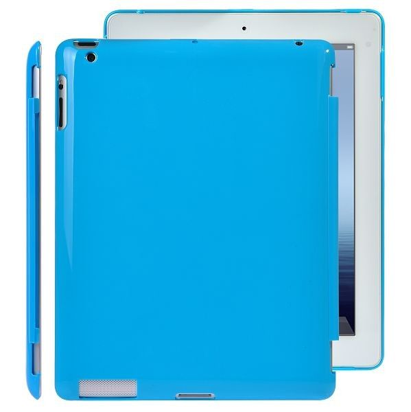 CandyColor Hard Shell (Lys Blå) The New iPad 3 / iPad 4 Cover