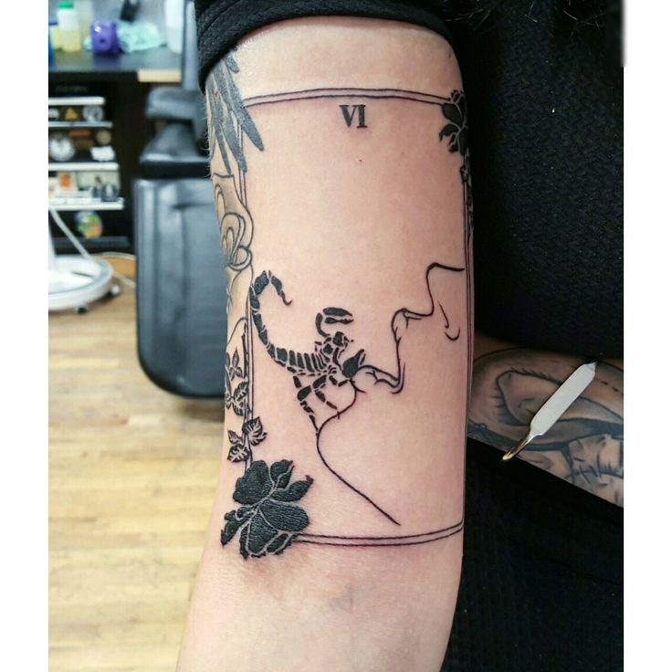 Penny Dreadful tarot card tattoo
