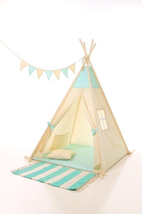 Kids teepee play tent wigwam, children's teepee, playtent, tipi, wigwam, kids teepee, tent, play teepee, high quality wigwam  TIPI ENFANTS