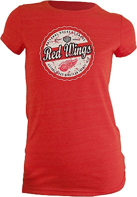 Old Time Hockey Detroit Red Wings Women's Caper Triblend XL