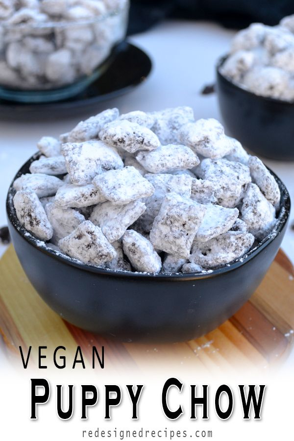 Vegan Puppy Chow Recipe Puppy Chow Recipes Chex Mix Recipes