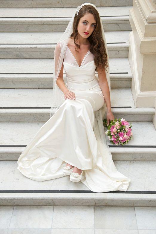 Stunning Ethical Wedding Dress From Motasem Dresses