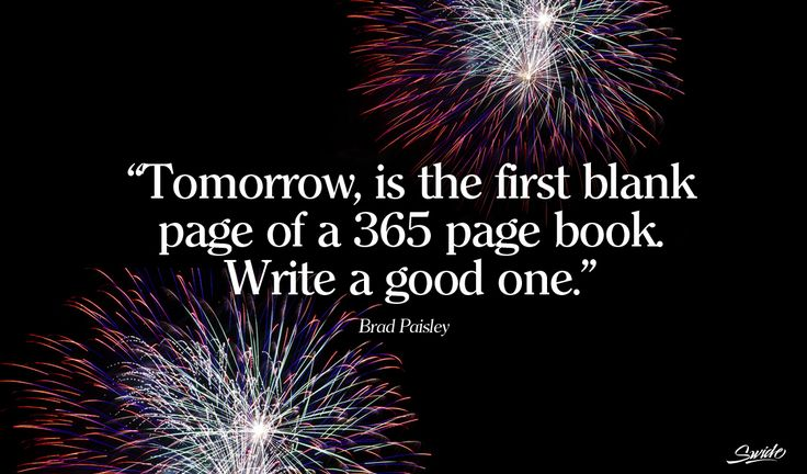 Tomorrow, is the first blank page... google search