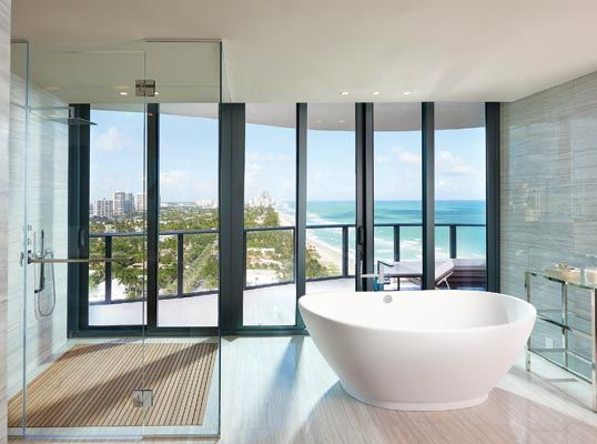 Miami | Ft Lauderdale Modern and lavish architecture in this Sunny Beach Isles penthouse Listed by: Rose Marie Minio | One | Sotheby's