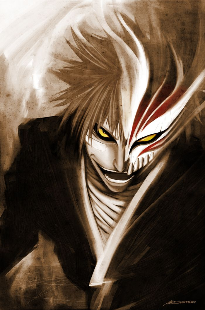 Hollow Ichigo. Mangá bleach, Desenho de olhos anime