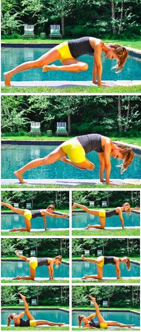 <3 yoga! poses for strengthen core muscles