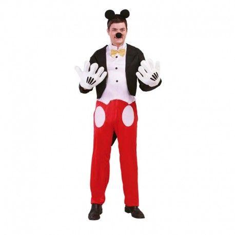 Disfraces Disney hombre| Disfraz de Mickey Mouse. ¡El famoso personaje de Disney! Un Mickey Mouse para cualquier fiesta. Contiene pantalón, chaqueta de picos, camisa y diadema con orejas. Talla M/L. 19,95€ #mickey #mickeymouse #mouse #ratondisney #disfrazmickey #disfraz #disney #disfraces #disfrazdisney