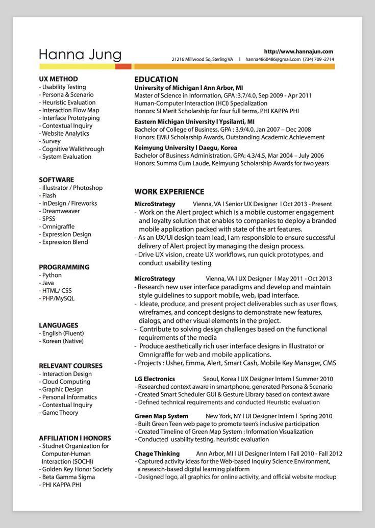 google senior software engineer resume