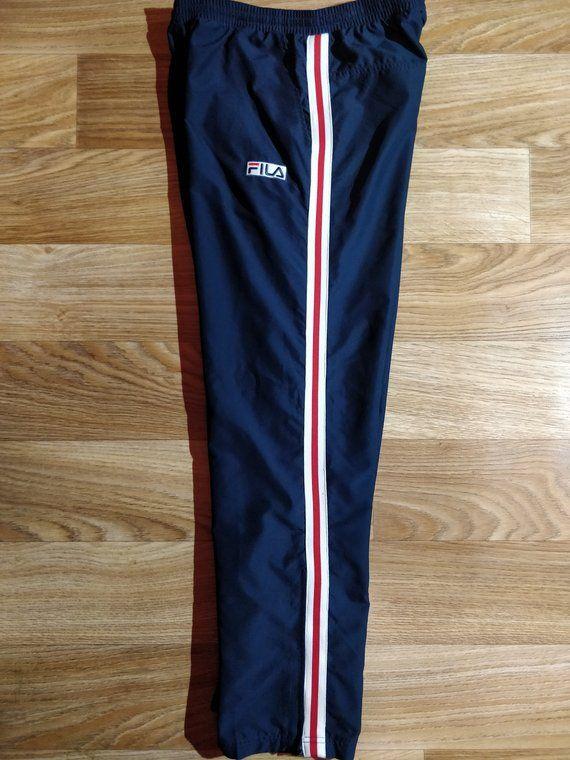 7955ead273937 Pin by Athletics Vintage on Mens Athletics Clothing Adidas Originals Reebok  Nike Puma Sergio Tacchini Fila in 2019 | Mens tracksuit pants, Tracksuit  pants, ...