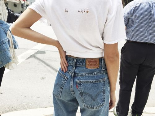 There is nothing like a good pair of Levi's jeans!