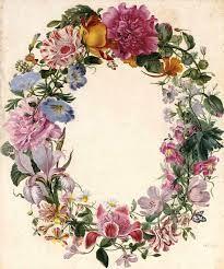 frame cornice di fiori