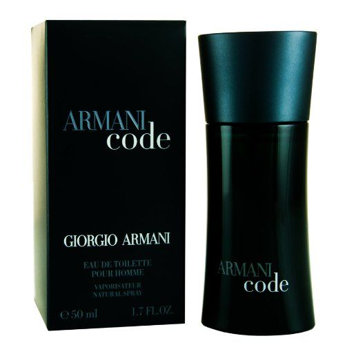 Giorgio Armani Code Eau de Toilette Spray for Men 50 ml
