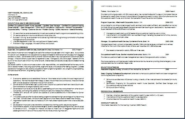 Professional 2 Page Resume Examples Resume Templates Sample Resume Templates Sample Resume Format Resume Examples
