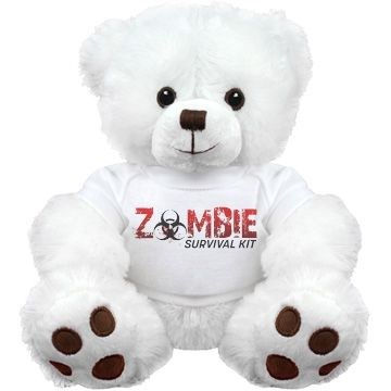 """""""ZOMBIE LOVE""""   when it all hits the fan there's one who will always be their ... the """"ZOMBIE BEAR"""" A FIRST OF ITS KIND AND NOT SOLD IN ANY STORES!!"""