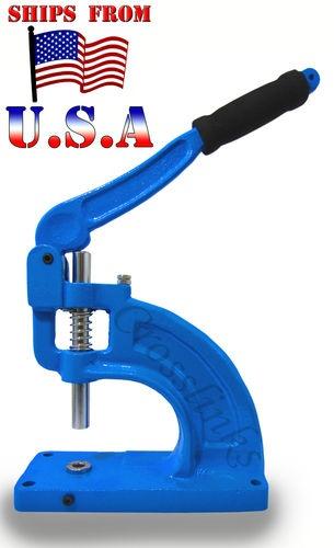 Hand Press Grommet Machine Punch Hole Tool Banner Heavy Duty New   eBay