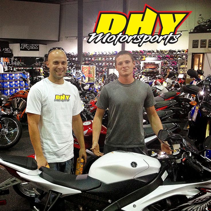 Congratulations to Eric from #Pittsgrove on the purchase of his 2013 #Yamaha #YZF-R6 He'll be turning heads as effortlessly as he does corners on the R-6 and we're happy we could put them together. #mynewride #dhynj #sportbike