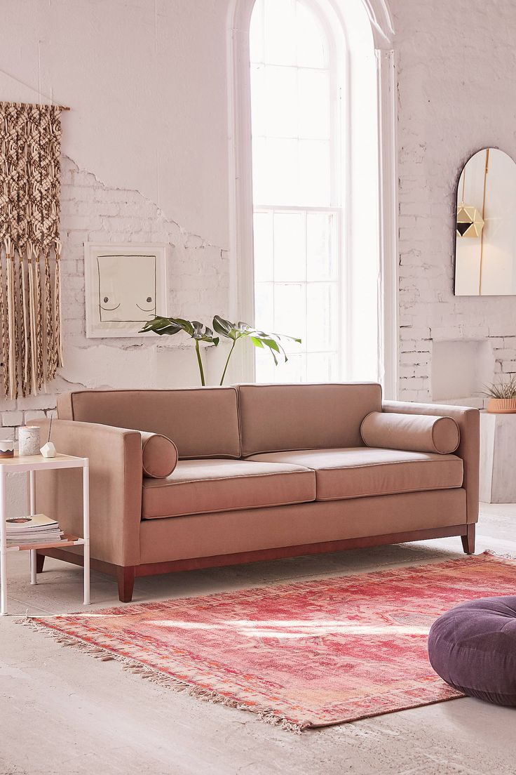 Shop Piper Petite Microfiber Sofa at Urban Outfitters today. We carry all the latest styles, colors and brands for you to choose from right here.