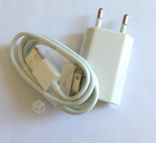 Cable deI ipad/ipod/iphone 3 3gs 4 4s + Cargador,PRODUCTOS NUEVOS SE ENVIA A TODO CHILE Whatsapp +569 9-7759634 VALOR $2.990