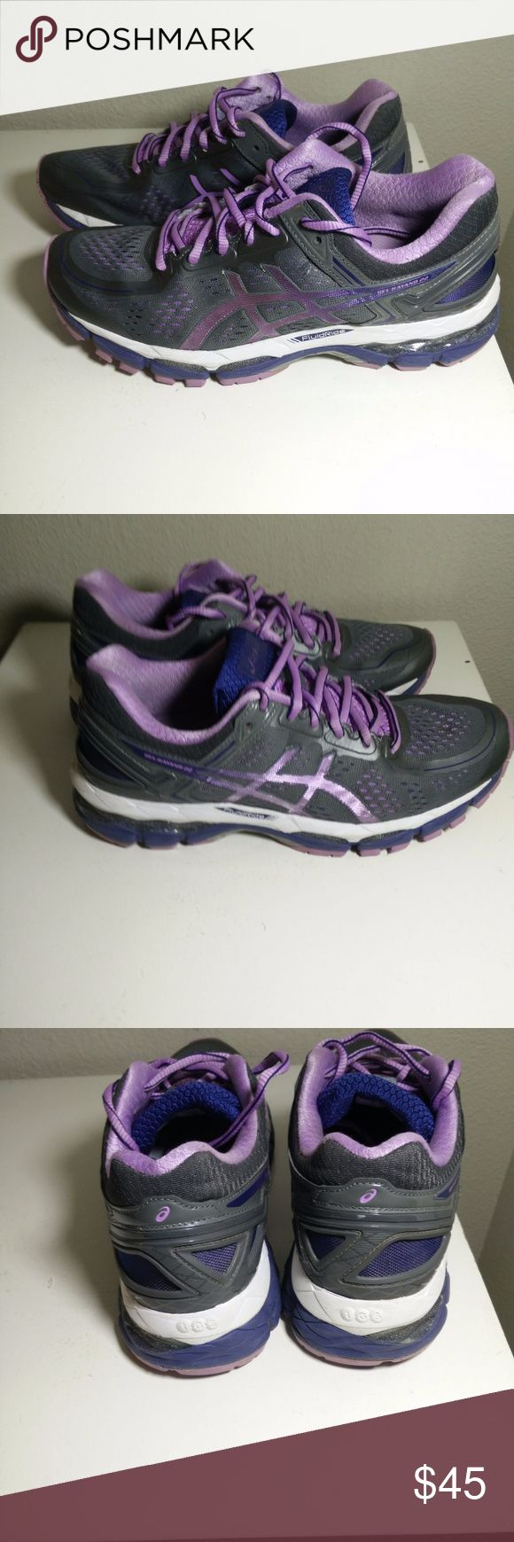 Asics Gel Kayano 22 Womens Running Sneakers Asics Gel Kayano 22 Womens Running Sneakers Athletic T597Q Multicolor Size 8 - Great Looking Sneakers showing signs of normal wear but still in VERY GOOD wearable condition with no  obvious flaws to note. (ref#1862) Asics Shoes Athletic Shoes