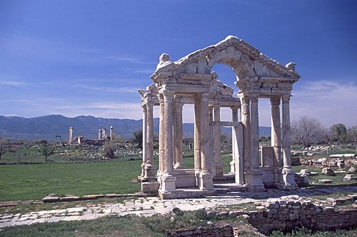 Ruins of Aphrodisias ... Denizli,Turkey .... 1st century BC