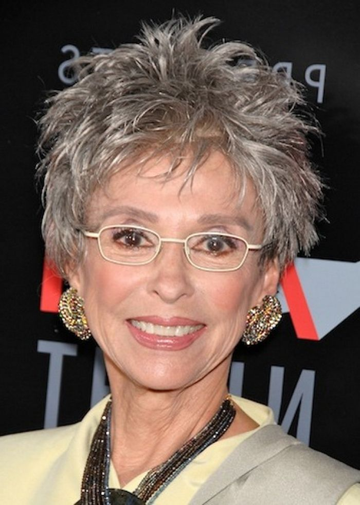 Short Hairstyles For Women Over 60 With Glasses Short