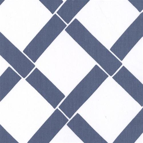 Annette Tatum Bamboo Indigo Fabric asian upholstery fabric