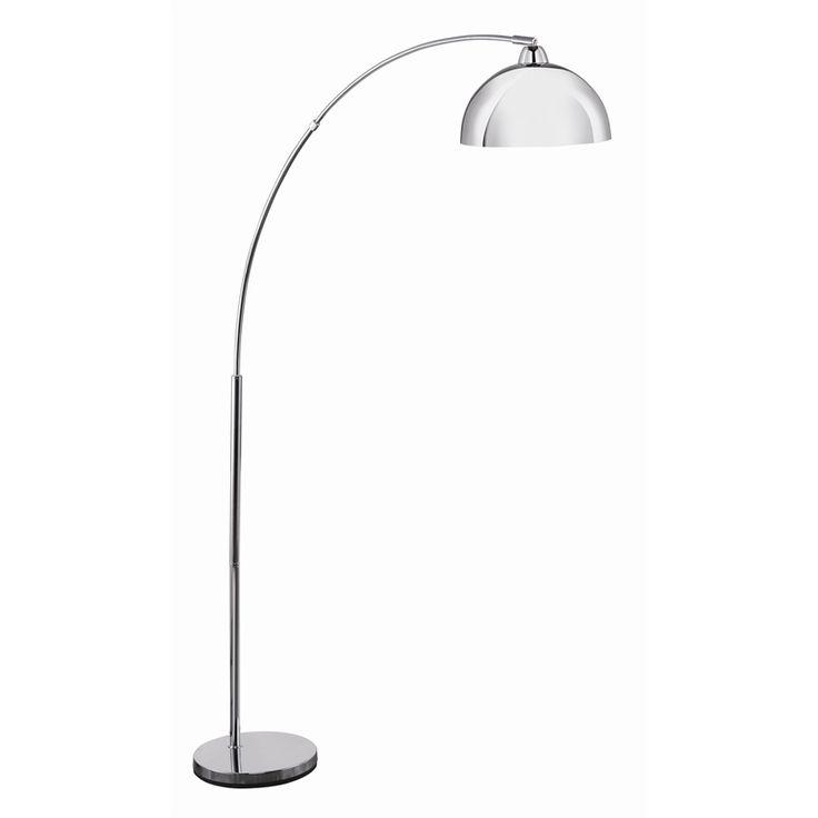 Brilliant Grange Chrome Floor Lamp