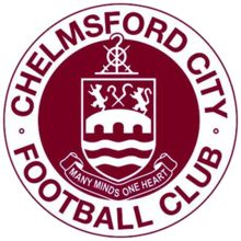 1878, Chelmsford City F.C. (Chelmsford, Essex, England) #ChelmsfordCityFC #UnitedKingdom (L15043)