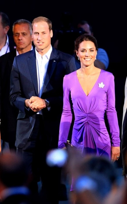 Kate Middleton aka Duchess of Cambridge & Duke of Cambridge during Day 2 of Royal  Tour of Canada. July 1, 2011.