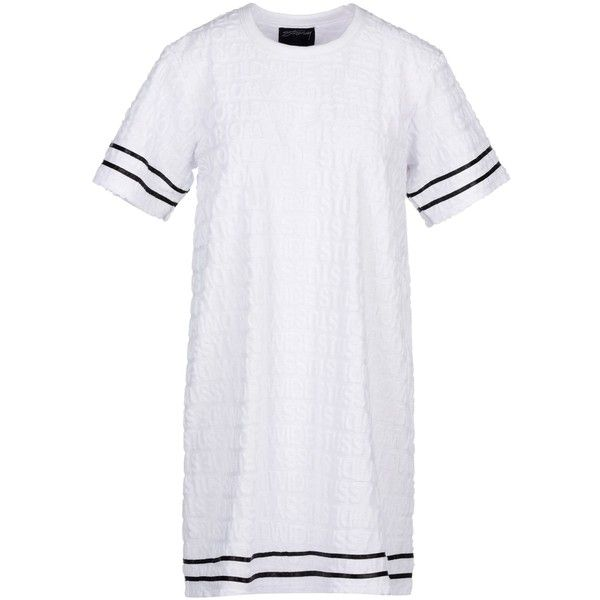 Stussy T-shirt ($56) ❤ liked on Polyvore featuring tops, t-shirts, white, white short sleeve t shirt, stussy t shirt, short sleeve tops, stussy and jacquard top