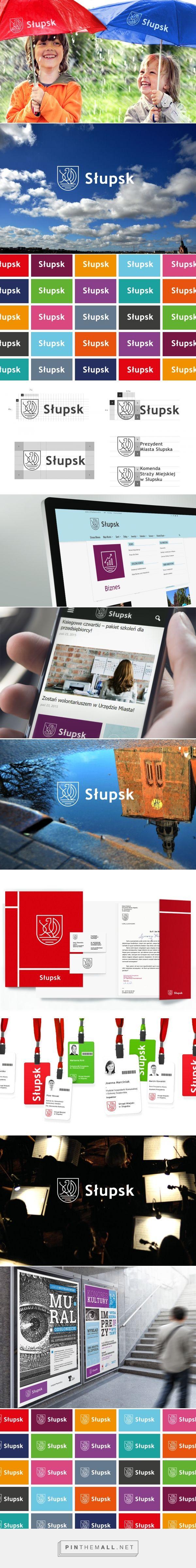 Słupsk on Behance - created via https://pinthemall.net