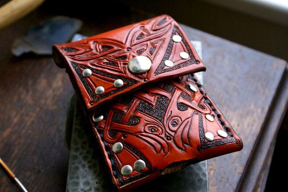 Cell Phone Case Leather Cell Phone CaseCeltic by sevenannine